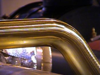 Tubo Ø50x1.5mm Latón
