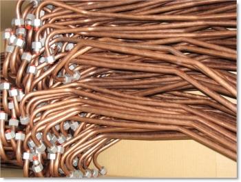 Tube Ø12x1mm Copper