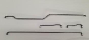 Tube Ø6x2mm or Ø6x2.4mm Steel